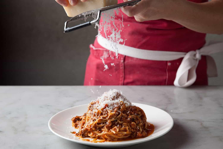 Tagliarini Bolognese from Milo & Olive